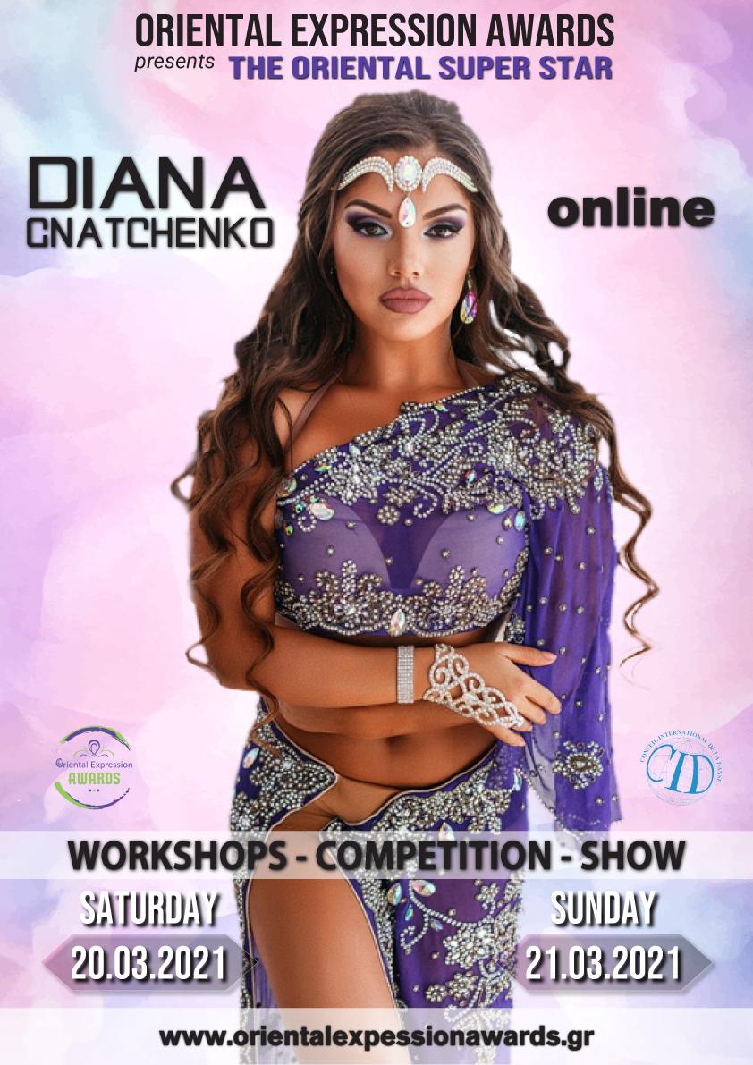 Diana @Oriental Expression Awards 2021